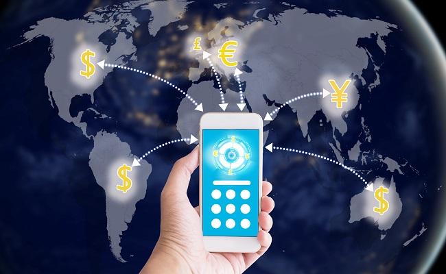 telefon, świat i waluty