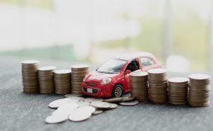 samochód i monety