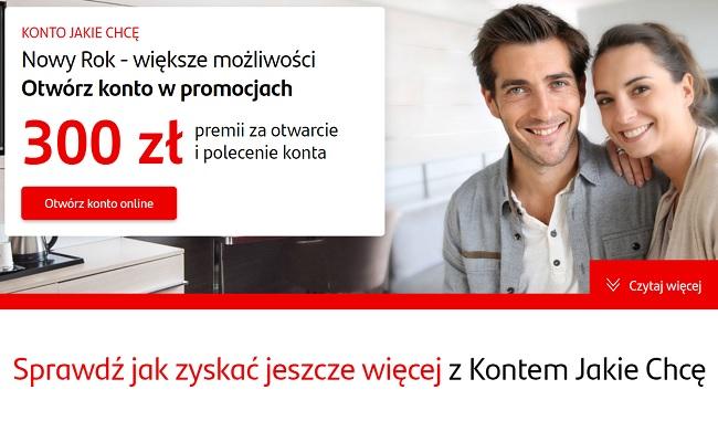 Konto Jakie Chcę w Santander Bank Polska – nowoczesne, praktyczne i tanie