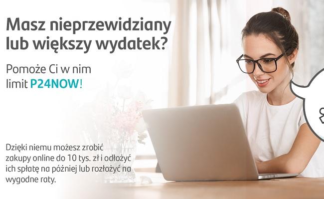 Limit P24NOW od Santander Consumer Bank i Przelewy24