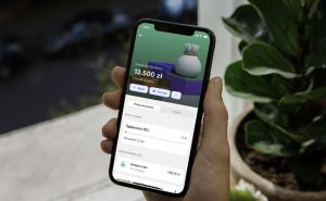 Revolut Bank screen z aplikacji
