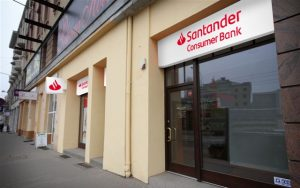 eRaty Santander placówka bankowa